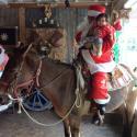Meet Santa on a Horse