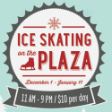 Ice Skating on Plaza at Whole Foods