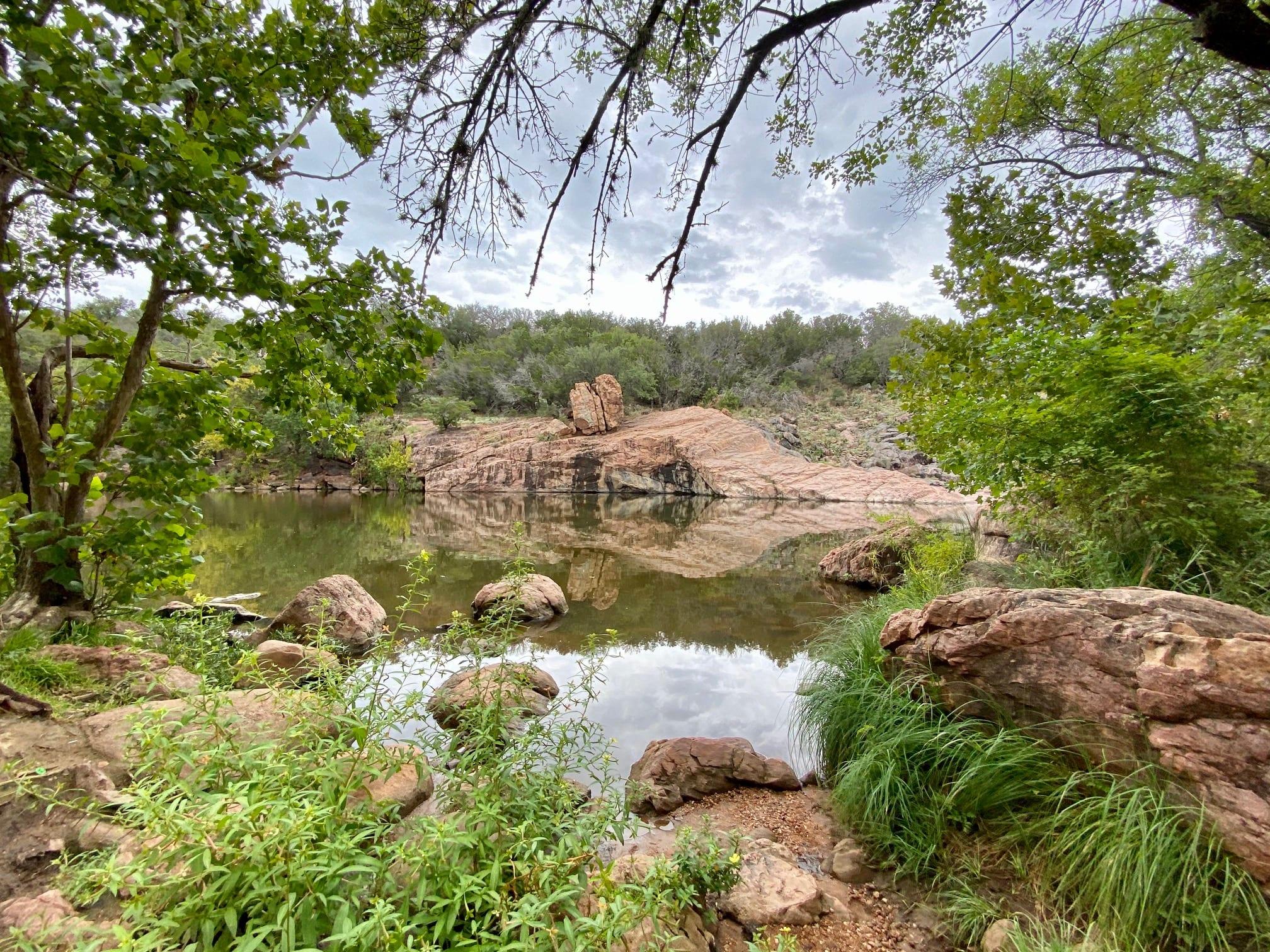 Devil's Waterhole at Inks Lake State Park - Do512 Family